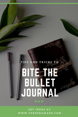 Bite the Bullet Journal
