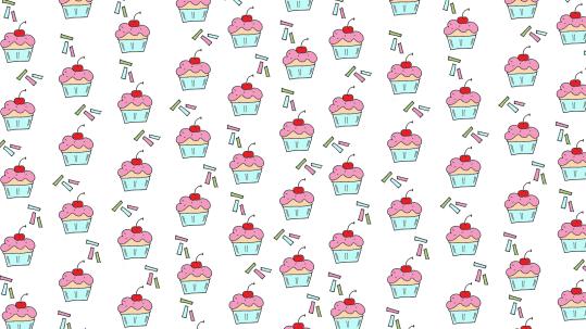 cupcake wallpaper 1