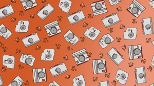Camera Themed Wallpaper for Desktop Backgrounds or Lock Screens